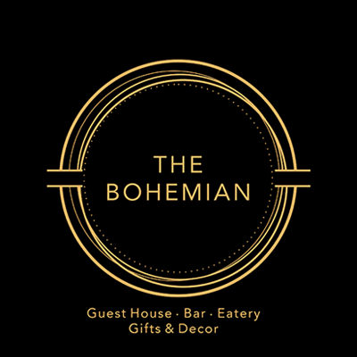 The Bohemian Guesthouse and Eatery Logo Image